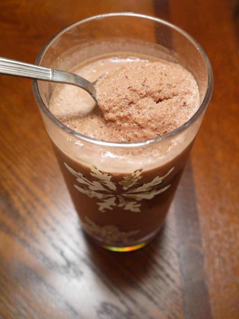 Paleo Frozen Hot Chocolate (GF) | Perchance to Cook
