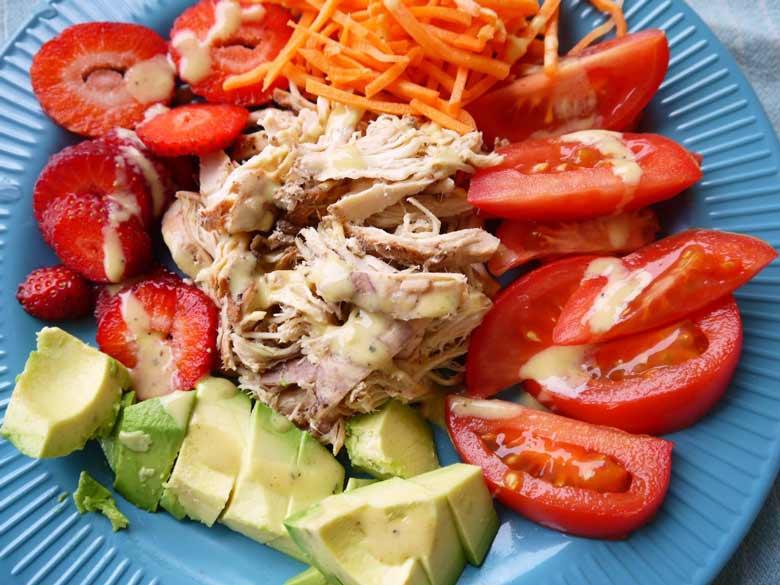 paleo-pulled-chicken-salad-perchancetocook-2
