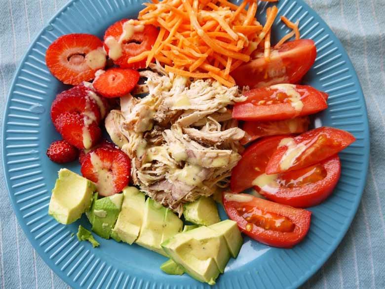 paleo-pulled-chicken-salad-perchancetocook