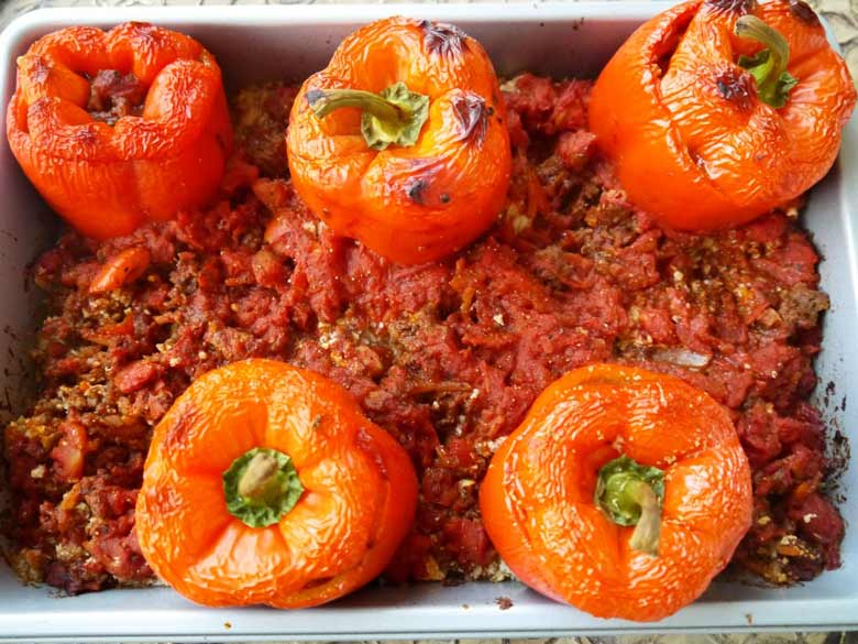 stuffed-peppers-cauliflower-rice-paleo-perchancetocook-1