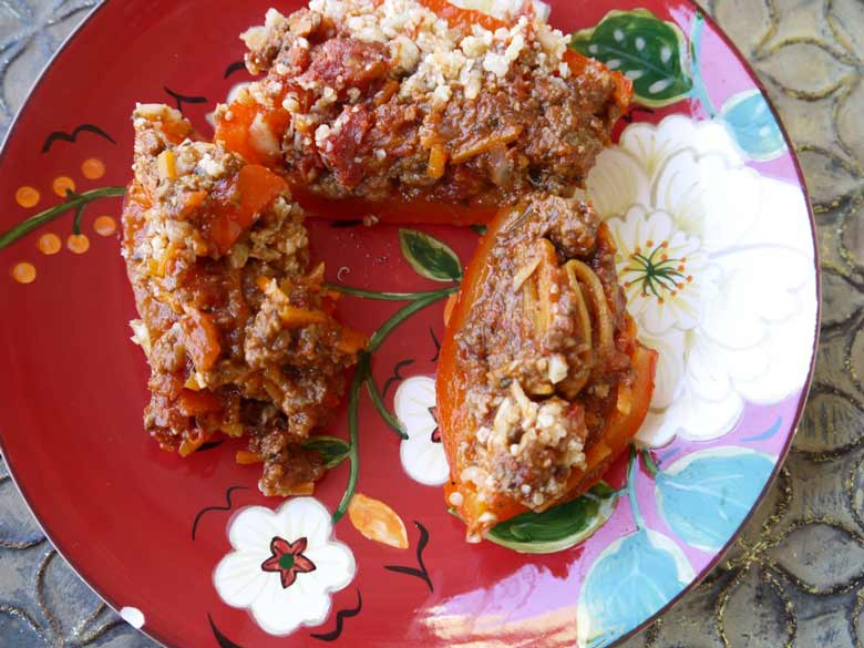 stuffed-peppers-cauliflower-rice-paleo-perchancetocook-2