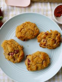 Strawberry Shortcake (Paleo, gluten-free)   Perchance to Cook, www.perchancetocook.com