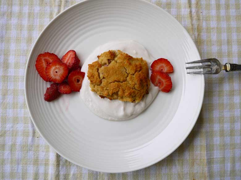Strawberry Shortcake (Paleo, gluten-free) | Perchance to Cook