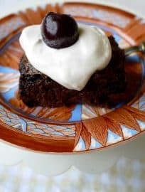 Black Forest Brownies (paleo, gluten-free) | Perchance to Cook, www.perchancetocook.com