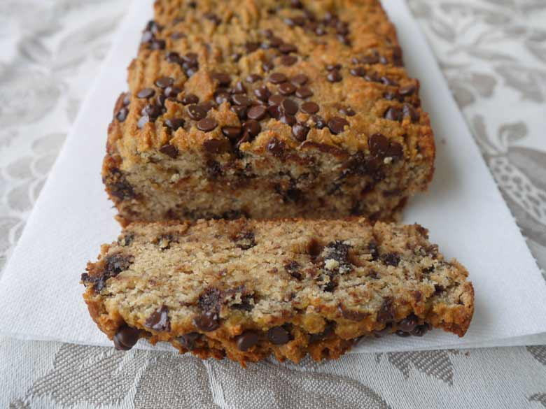 be posting this Chocolate Chip Banana Bread recipe. This banana bread ...