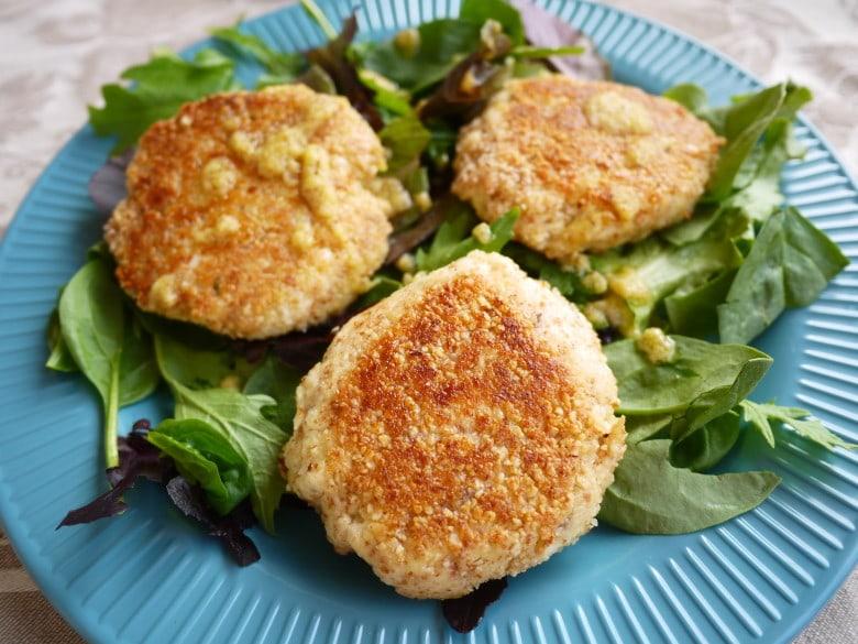 Paleo Crispy Lemon-Thyme Fish Cakes (GF)- a restaurant-quality way to ...