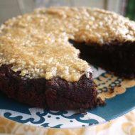 Paleo German Chocolate Cake (GF)   Perchance to Cook, www.perchancetocook.com