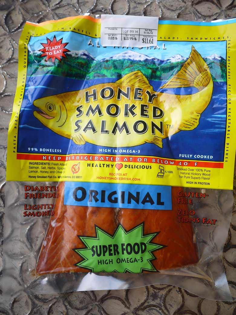 Smoked salmon quinoa with cream sauce paleo friendly gf for Honey smoked fish