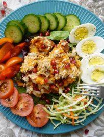 Sweet Potato Salad Niçoise (paleo, GF)   Perchance to Cook, www.perchancetocook.com