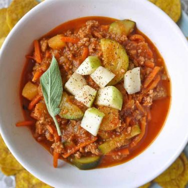 Apple Sage Turkey Chili (Paleo, GF, delicious) | Perchance to Cook, www.perchancetocook.com