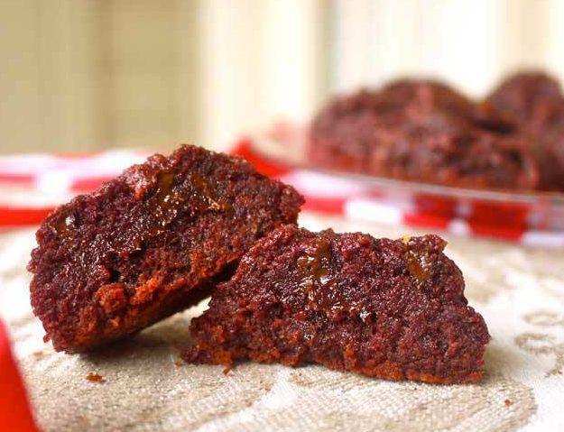 Red Velvet Drop Cookies (Paleo, GF)   Perchance to Cook, www.perchancetocook.com