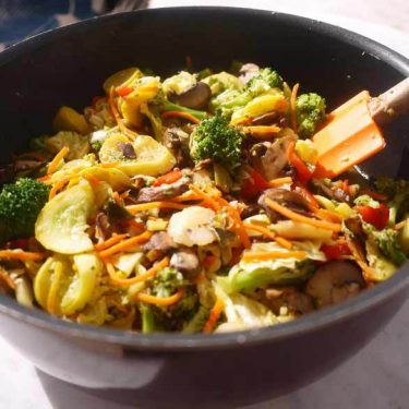 Vegetable Stir Fry Surprise (paleo, GF) | Perchance to Cook, www.perchancetocook.com