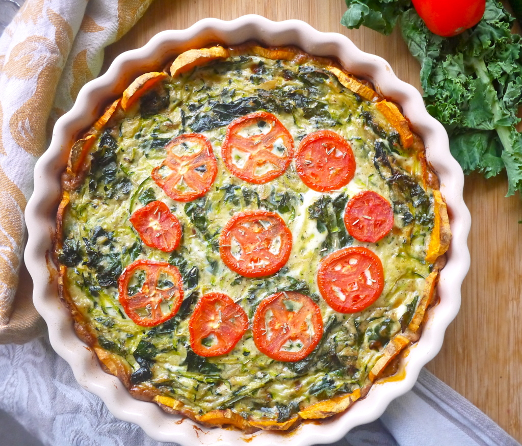 ... to make a quiche crust is a genius. A genius that has changed my life