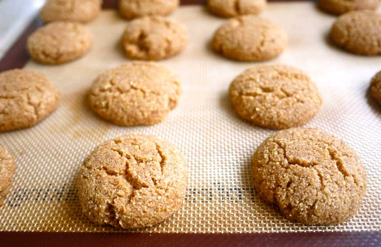 Coconut Flour Ginger Cake Cookies (paleo, GF) | Perchance to Cook, www ...