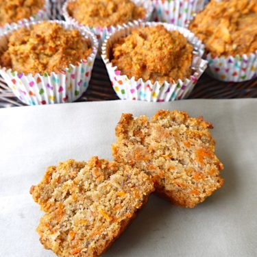 Carrot Cake Breakfast Muffins (paleo, gluten-free)| Perchance to Cook
