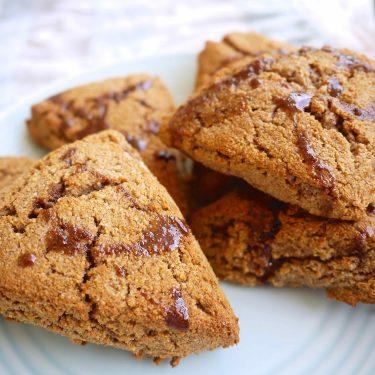 Paleo Cinnamon Scones (GF) | Perchance to Cook, www.perchancetocook.com