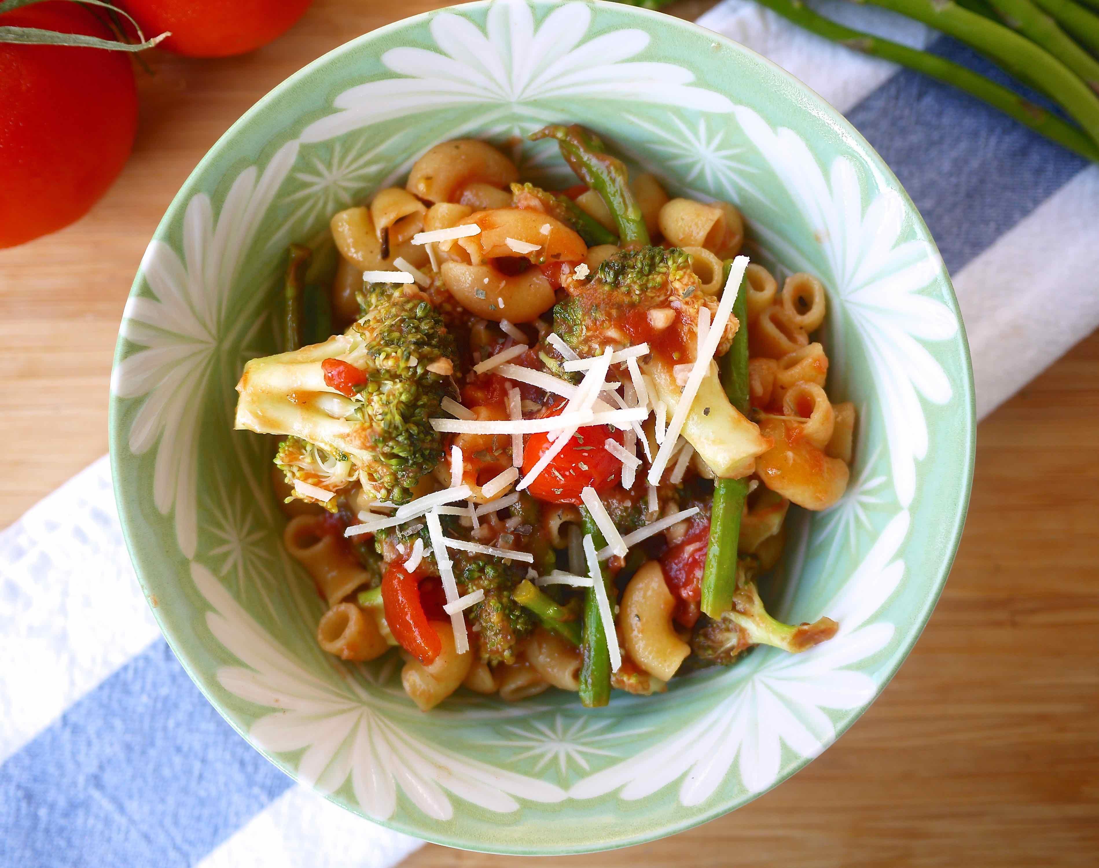 Broccoli Asparagus Primavera (paleo, Gf)  Perchance To Cook,  Perchancetocook