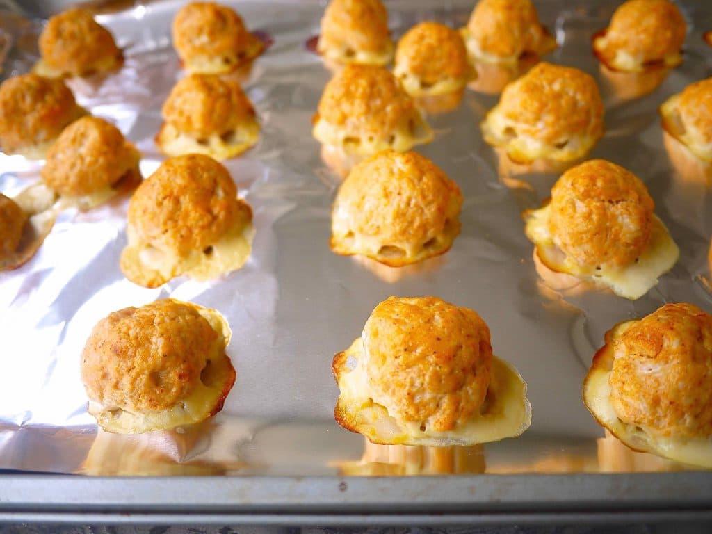 Healthy Buffalo Turkey Meatballs (paleo, GF) | Perchance to Cook