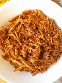 Sweet and Spicy Maple and Tomato Pulled Pork (paleo, GF) | Perchance to Cook, www.perchancetocook.com
