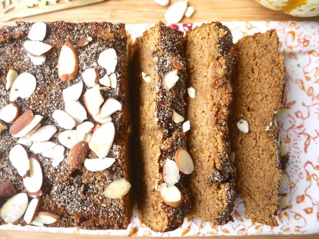 Paleo Pumpkin Bread (GF, grain-free)  Perchance to Cook, www ...