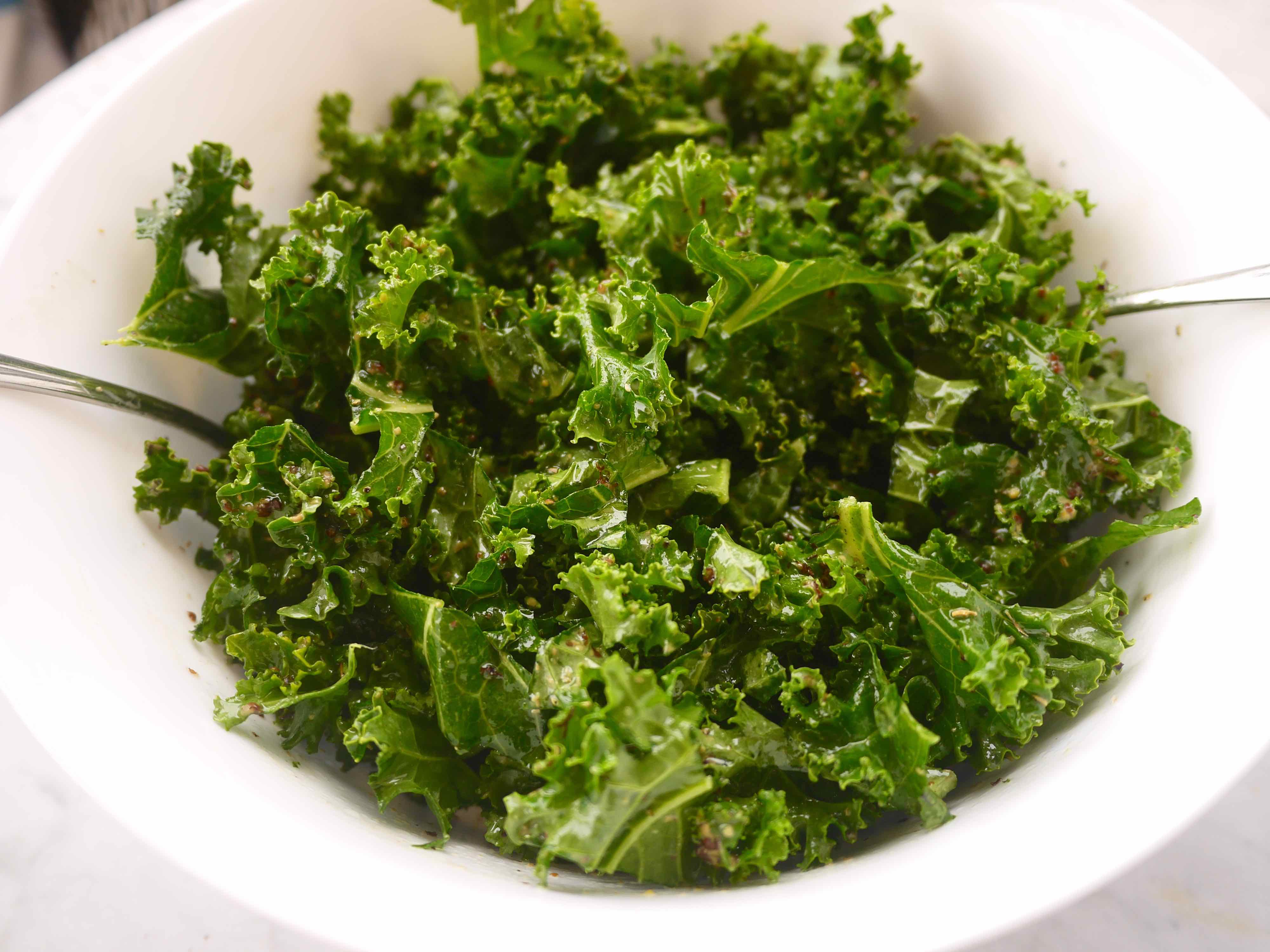how to cook kale in microwave