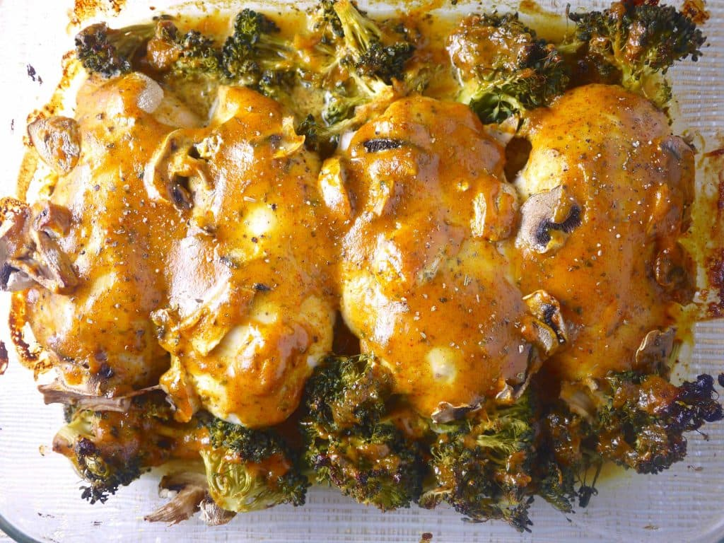 Baked Honey Mustard Paprika and Turmeric Chicken| Perchance to Cook, www.perchancetocook.com
