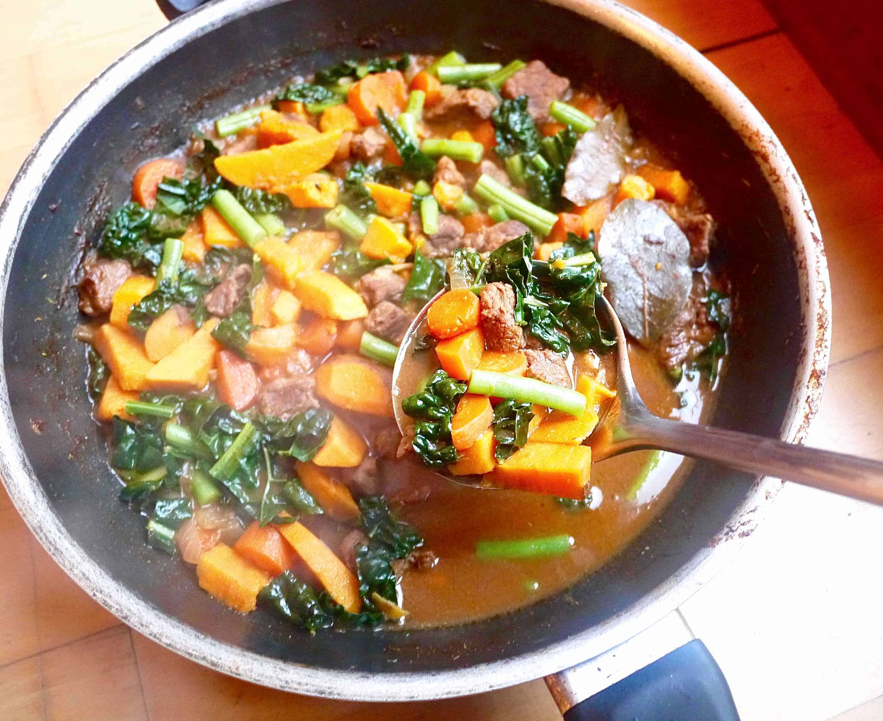 Paleo Beef And Winter Vegetable Soup Gf