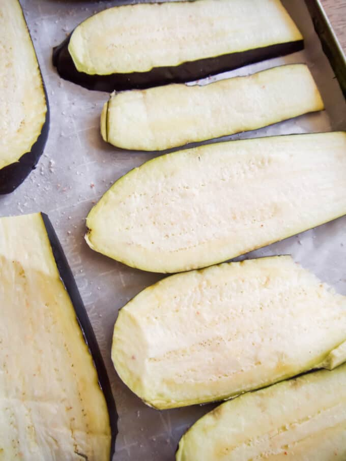 Ground Turkey, Bell Pepper, Zucchini, and Eggplant Casserole (Gluten-Free) | Perchance to Cook, www.perchancetocook.com