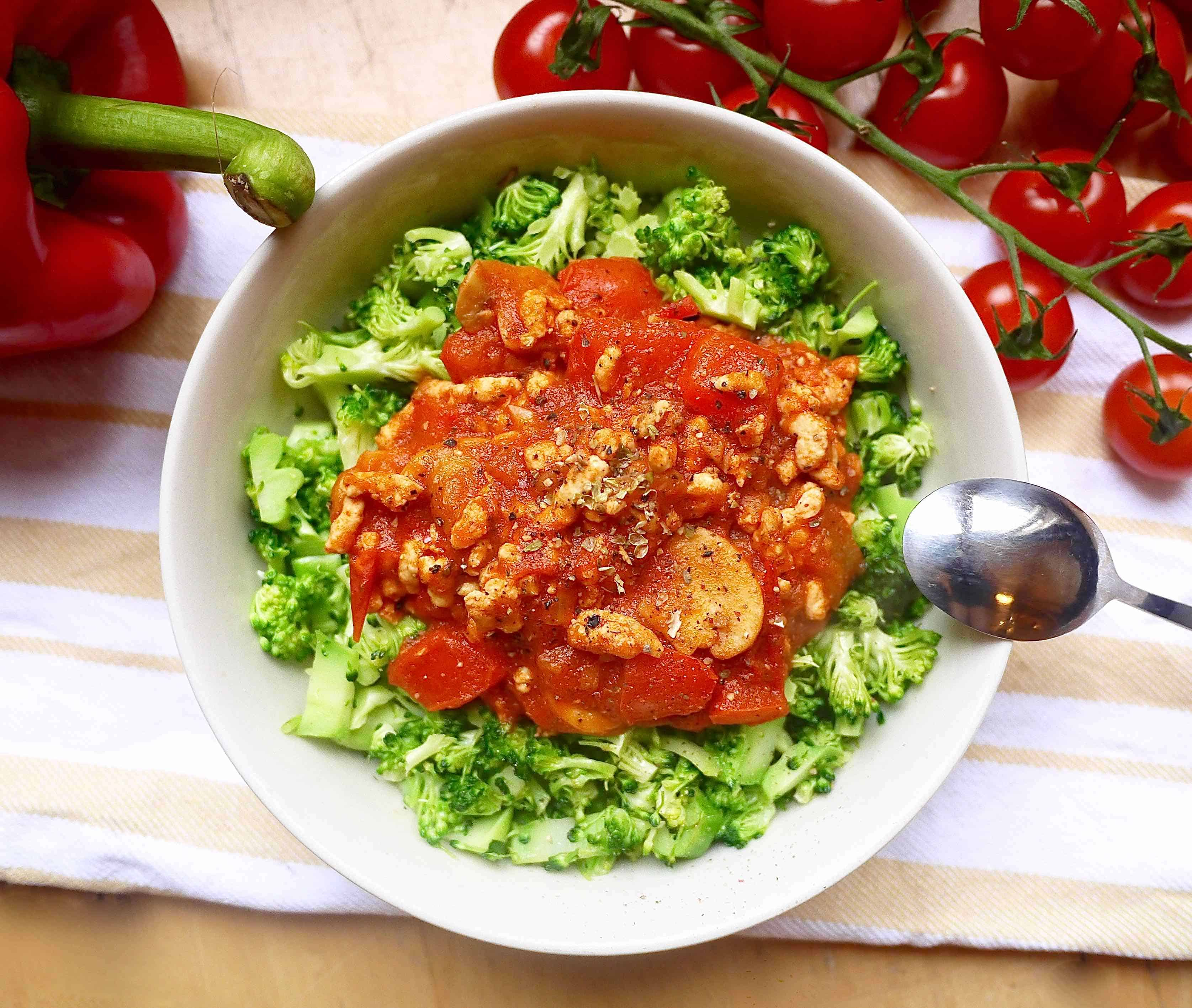 how to make meat sauce with vegetables