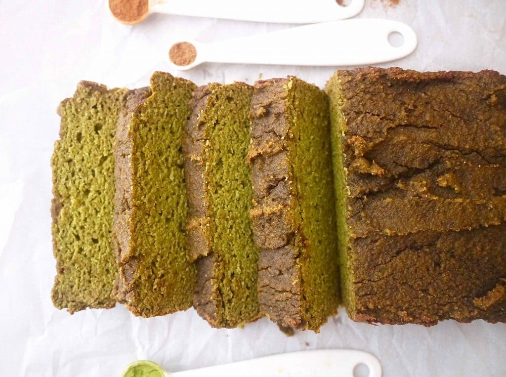 Grain-Free Morning Matcha Loaf (Paleo, GF)  Perchance to Cook, www.perchancetocook.com