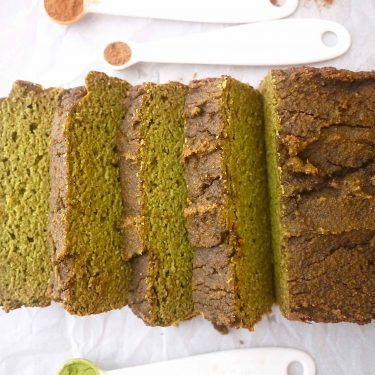 Grain-Free Morning Matcha Loaf (Paleo, GF)| Perchance to Cook, www.perchancetocook.com
