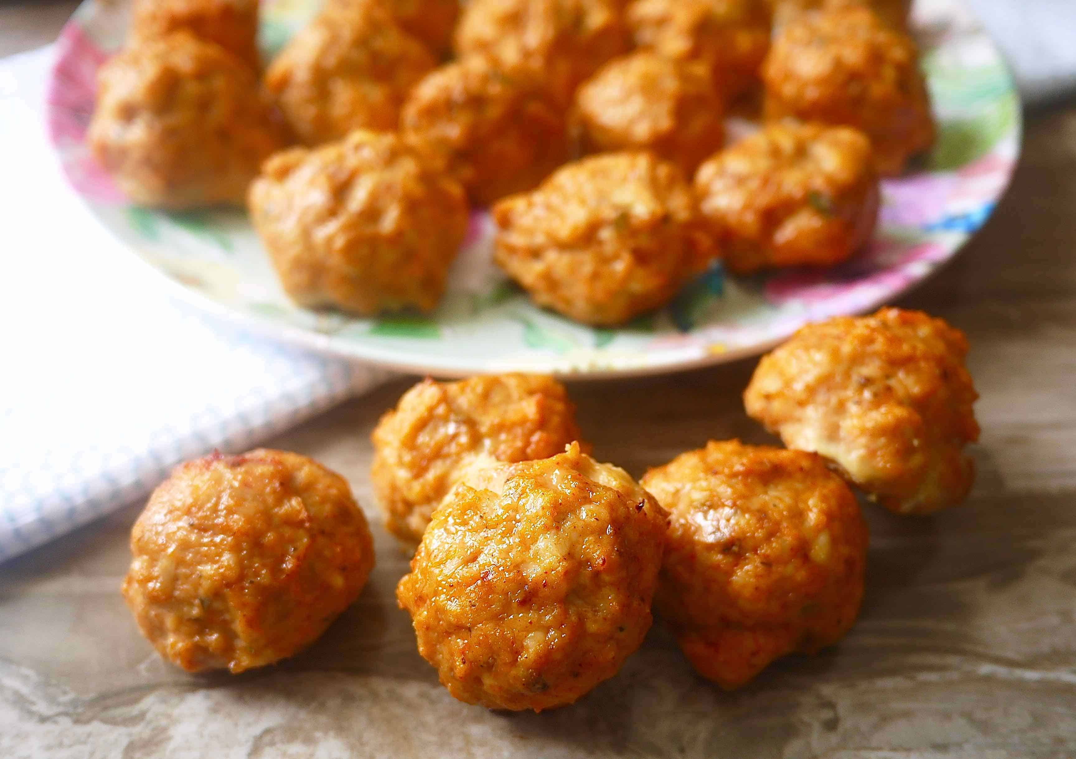 Paleo Chicken Taco Meatballs (GF) | Perchance to Cook