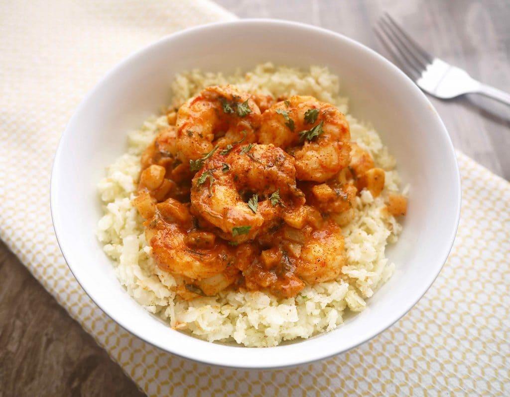 The Tastiest Paleo Paprika Garlic Shrimp! (GF) | Perchance to Cook, www.perchancetocook.com
