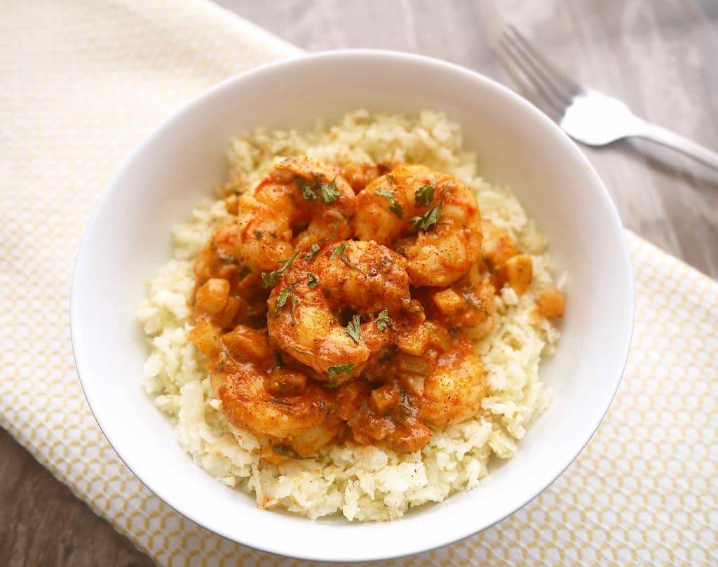 The Tastiest Paleo Paprika Garlic Shrimp! (GF)   Perchance to Cook, www.perchancetocook.com