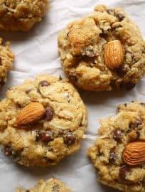Paleo Almond Joy Cookies (GF)| Perchance to Cook, www.perchancetocook.com