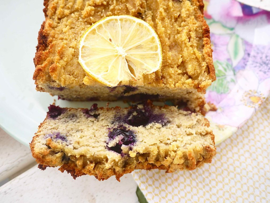 Paleo Lemon Blueberry Banana Bread Gf Perchance To Cook