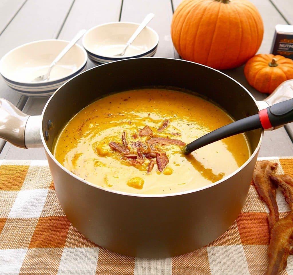how to prepare squash soup