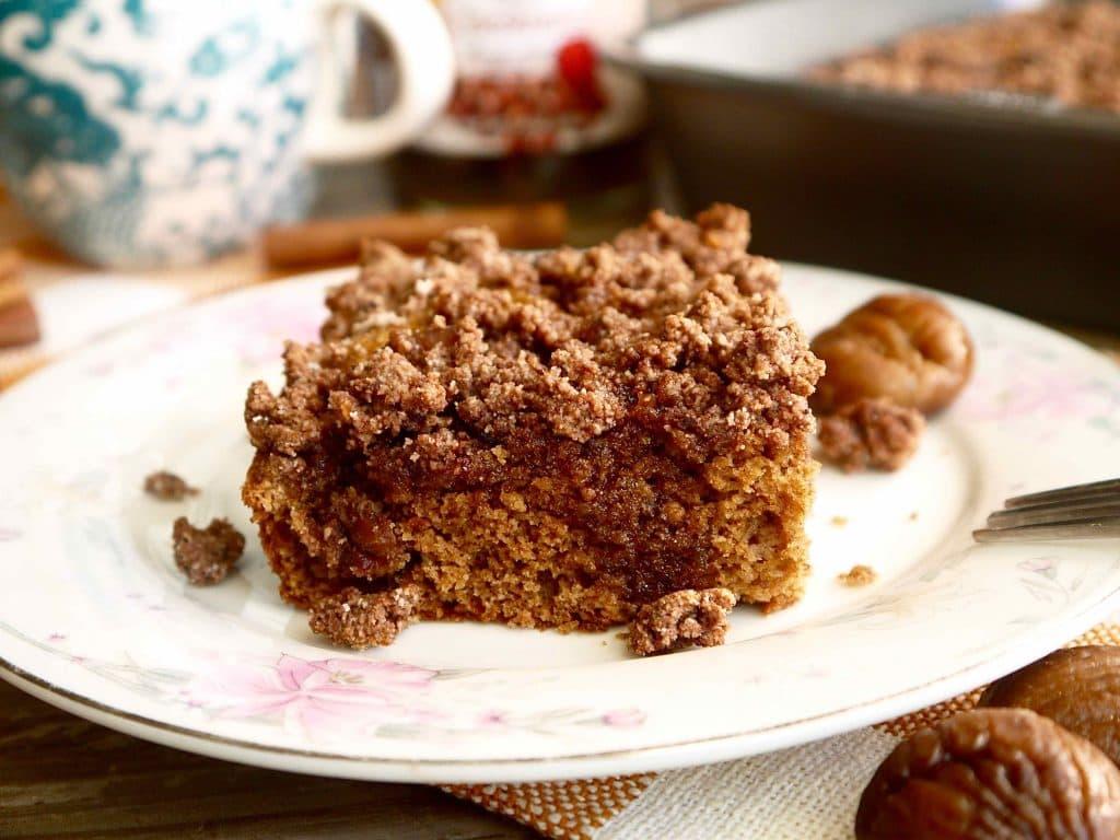 Chestnut Cake Vegan