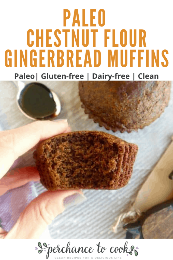 A healthier version of the typical gingerbread muffin, that is light, cakey and totally grain-free!