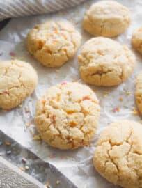 Paleo Sugar Cookies (GF) | Perchance to Cook, www.perchancetocook.com