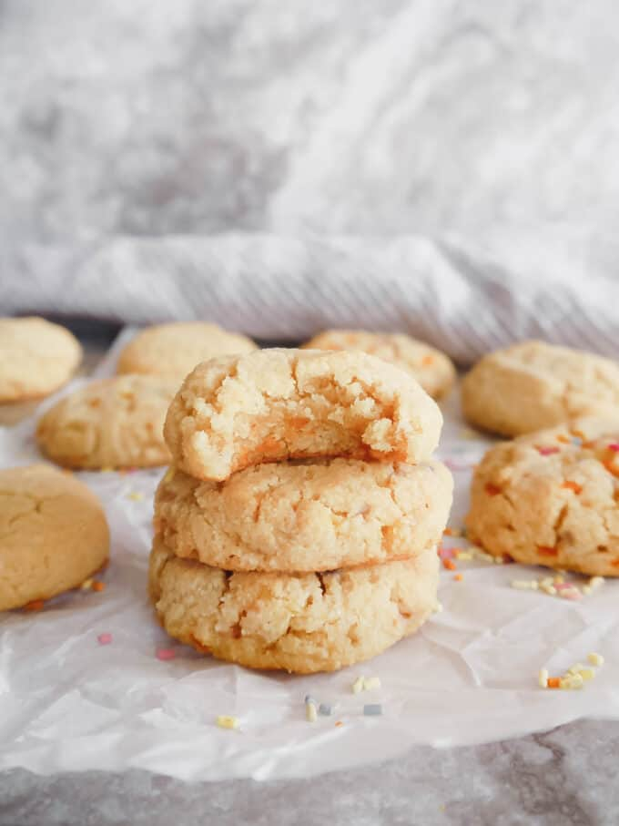 Paleo Sugar Cookies (GF)   Perchance to Cook, www.perchancetocook.com