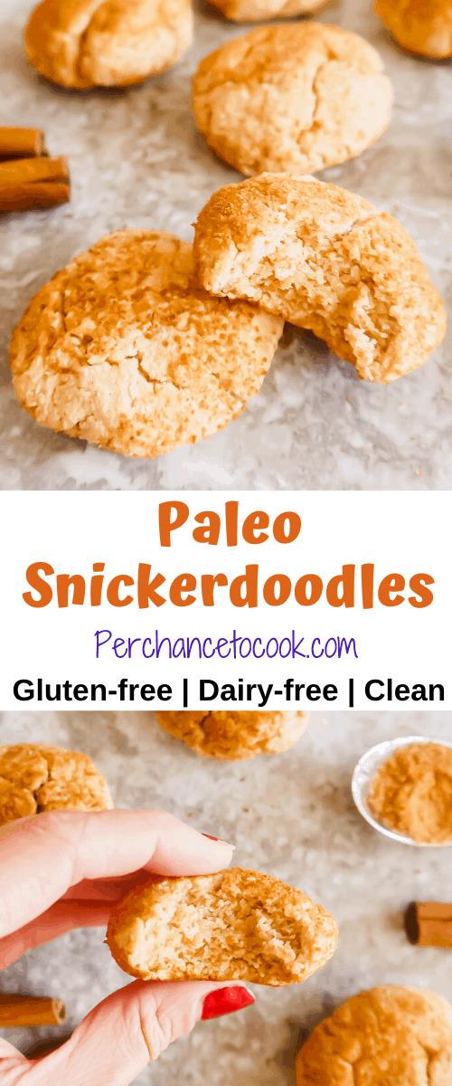Paleo Snickerdoodles   Perchance to Cook, www.perchancetocook.com