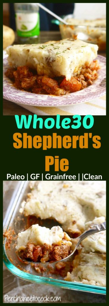 Whole30 Shepherd's Pie | Perchance to Cook, www.perchancetocook.com