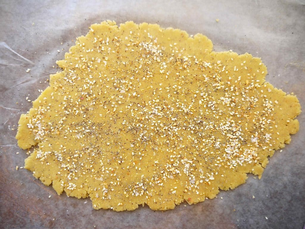 """Paleo """"Everything"""" Almond Crackers (GF)   Perchance to Cook, www.perchancetocook.com"""