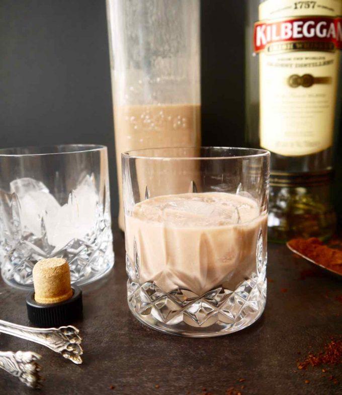 Homemade Clean Irish Cream Liqueur | Perchance to Cook, www.perchancetocook.com