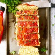 Healthy Buffalo Turkey Meatloaf (Paleo, Whole30) | Perchance to Cook, www.perchancetocook.com