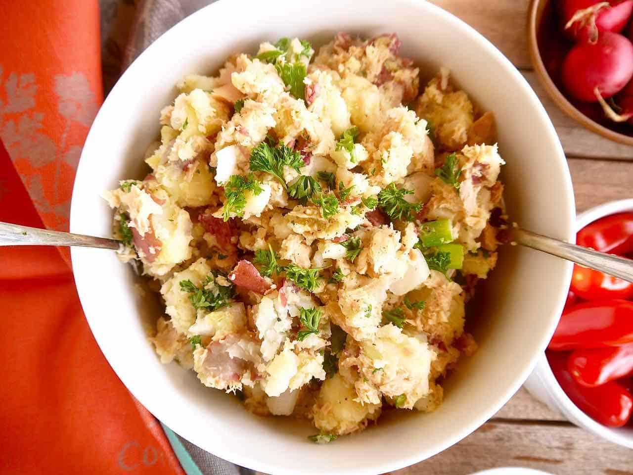 French Potato And Tuna Salad Paleo Whole30