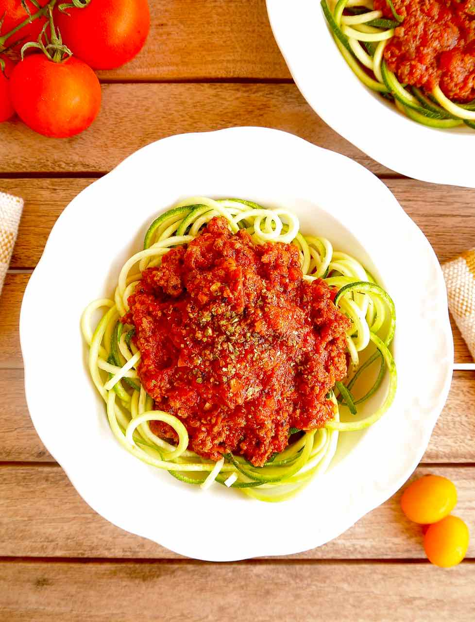 Paleo Bison Bolognese {GF} | Perchance to Cook, www.perchancetocook.com