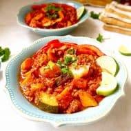Paleo Ground Turkey Hot Sauce Chili {Whole30, GF} | Perchance to Cook, www.perchancetocook.com