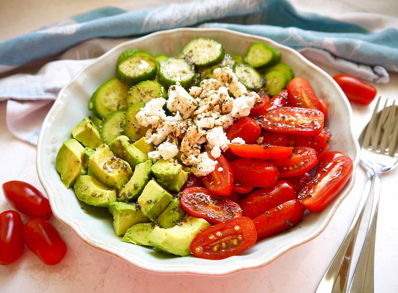 Image result for tomato and avocado salad